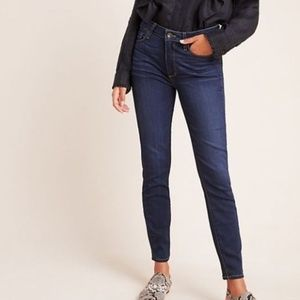 Paige 28 Hoxton High Waist Ankle Skinny Jeans